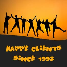 Happy Clients since 1992