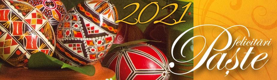 Felicitari de Paste, Colectia 2021